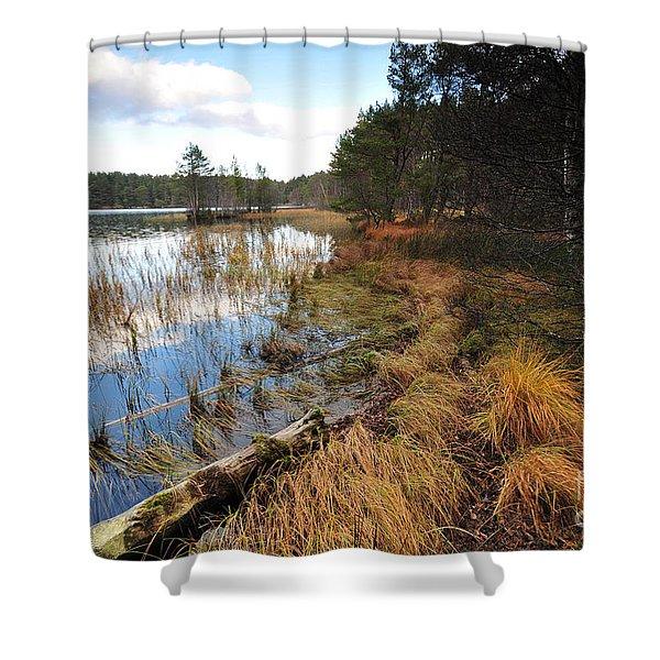 Loch Garten Shower Curtain