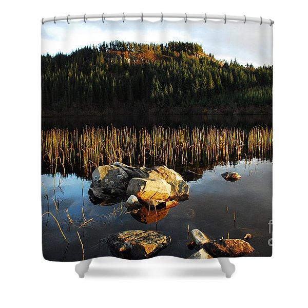 Loch Lundie Shower Curtain