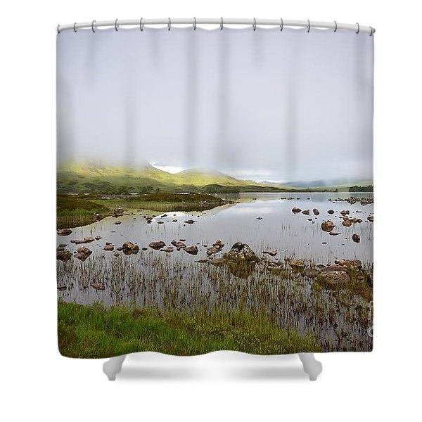 Loch Nah Achlaise Shower Curtain