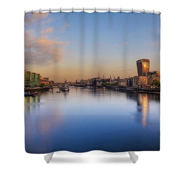 London Panorama Shower Curtain