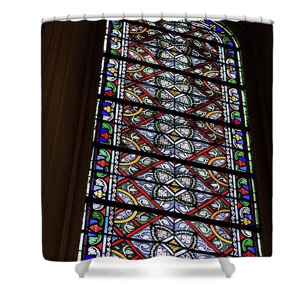 Loretto Chapel - Santa Fe - New Mexico Shower Curtain