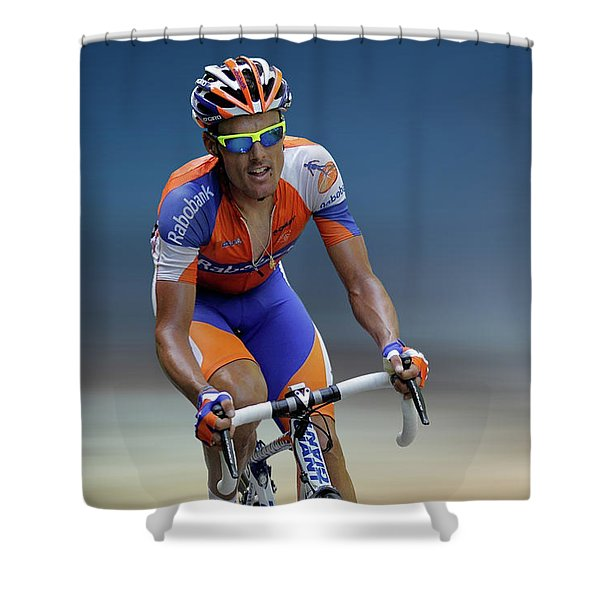 Luis Leon Sanchez 2 Shower Curtain