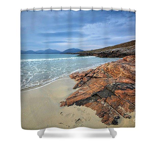 Luskentyre, Isle Of Harris Shower Curtain