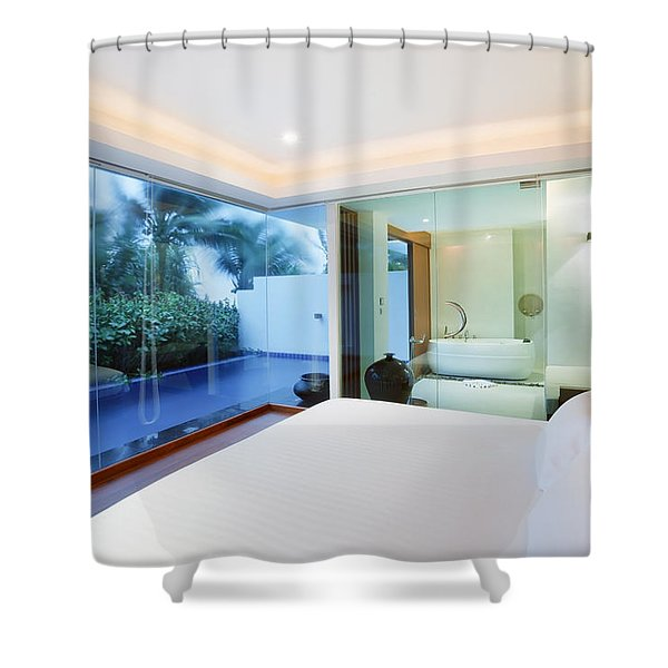 Luxury Bedroom Shower Curtain