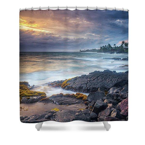 Lyman's Sunset Shower Curtain