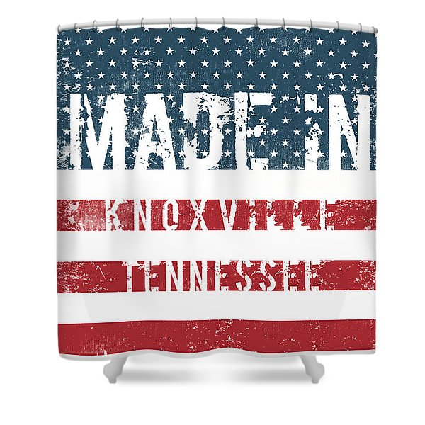 Made In Knoxville, Tennessee Shower Curtain
