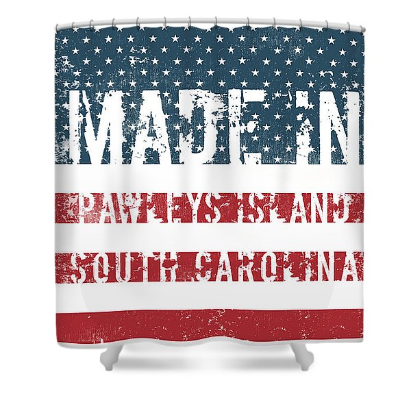 Made In Pawleys Island, South Carolina Shower Curtain