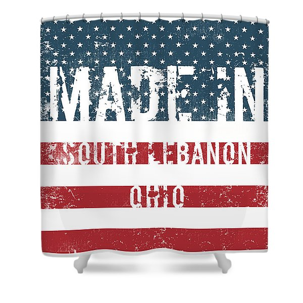 Made In South Lebanon, Ohio Shower Curtain