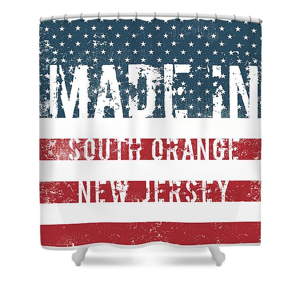 Made In South Orange, New Jersey Shower Curtain