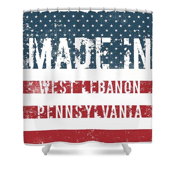 Made In West Lebanon, Pennsylvania Shower Curtain