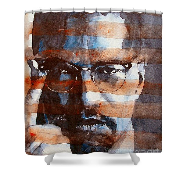 Malcolmx Shower Curtain