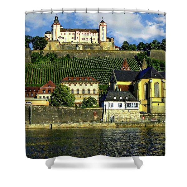 Marienberg Fortress Shower Curtain