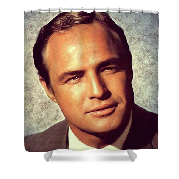 Marlon Brando, Actor Shower Curtain