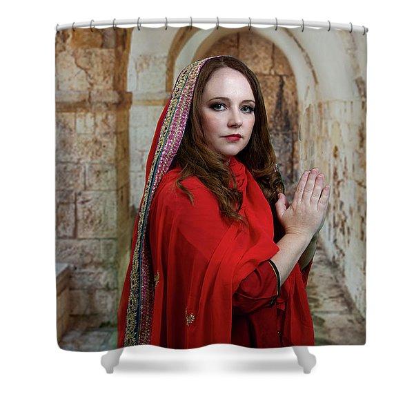 Mary Magdalene Shower Curtain