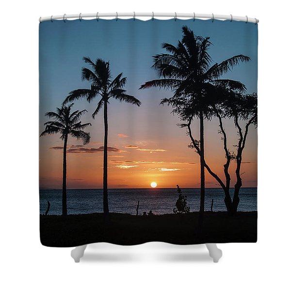 Maui Sunset Shower Curtain