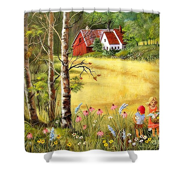 Memories For Mom Shower Curtain