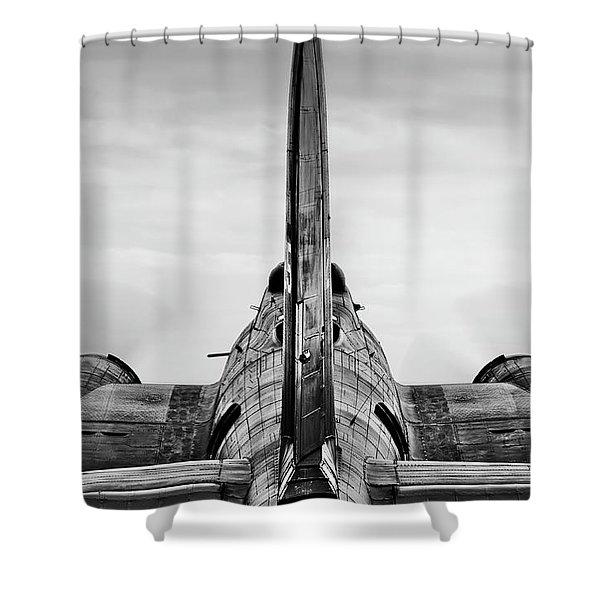 Memphis Belle Shower Curtain