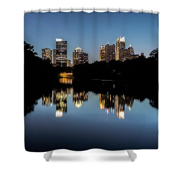 Midtown Skyline Shower Curtain