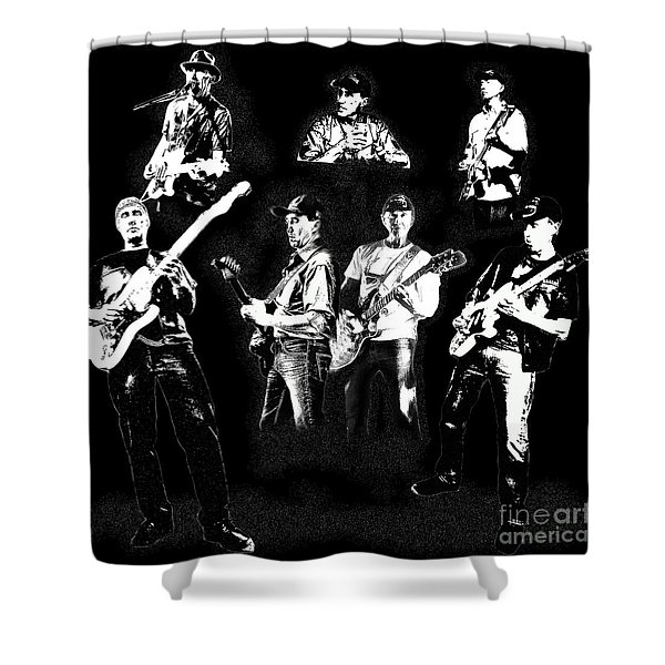 Mike Of Bralorne  Shower Curtain