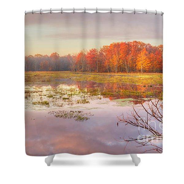 Misty Morning II Shower Curtain