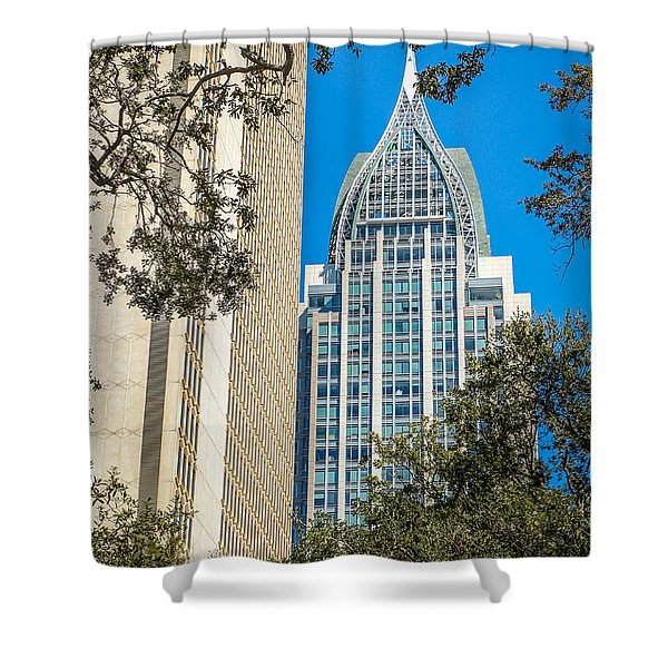 Mobile Shines Shower Curtain