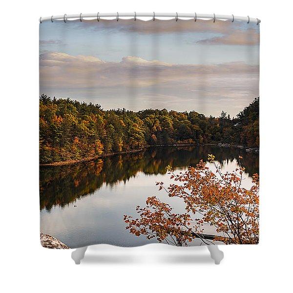 Mohonk Mountain House Lake Shower Curtain