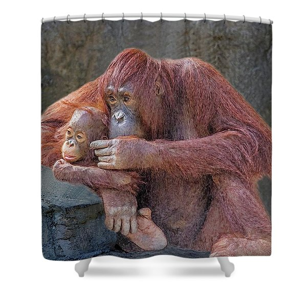 Motherhood 4 Shower Curtain
