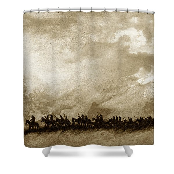 Movin On Shower Curtain