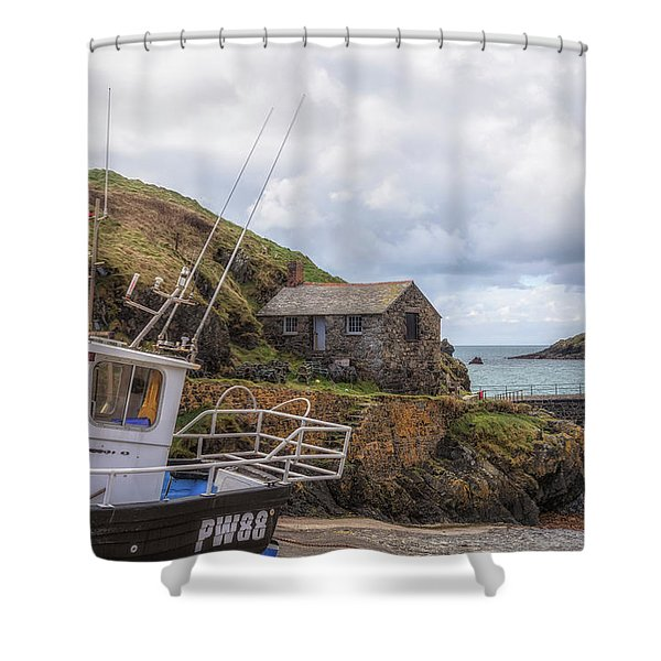 Mullion Cove - England Shower Curtain