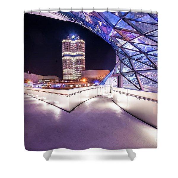 Munich - Bmw Modern And Futuristic Shower Curtain