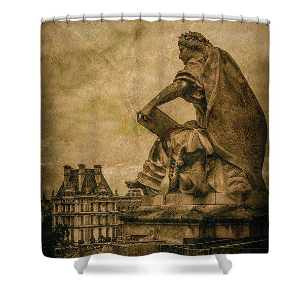Paris, France - Muse Shower Curtain