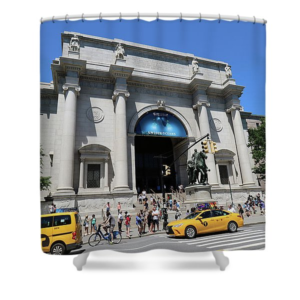 Museum Of Natural History Shower Curtain