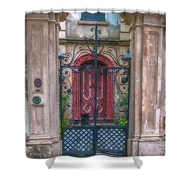 Narrow Is The Gate Shower Curtain