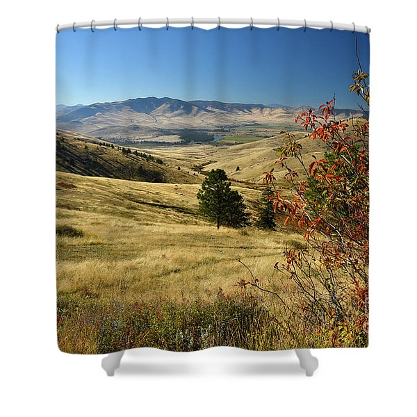 National Bison Range Shower Curtain