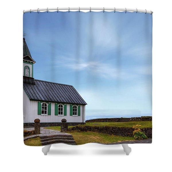 National Park Thingvellir - Iceland Shower Curtain