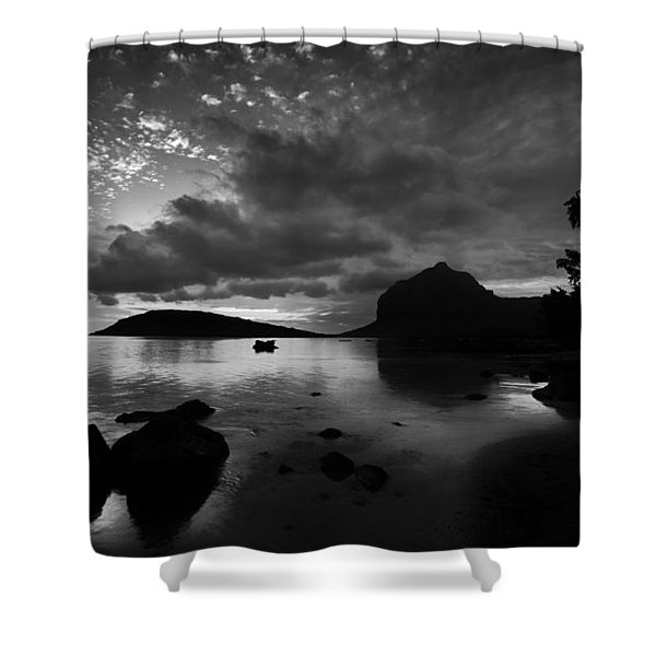 Near Le Morne Shower Curtain