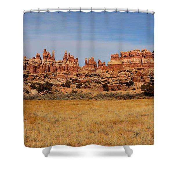 Needles At Canyonlands Shower Curtain