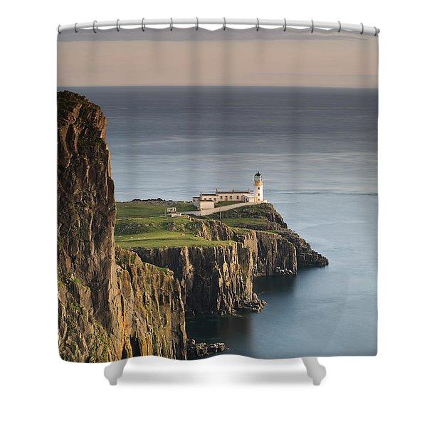 Neist Point At Sunset Shower Curtain