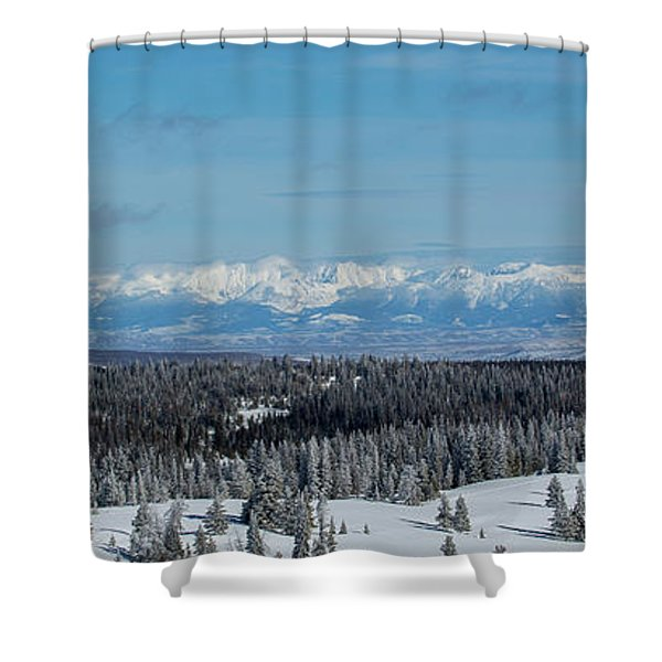 Never Summer  Shower Curtain