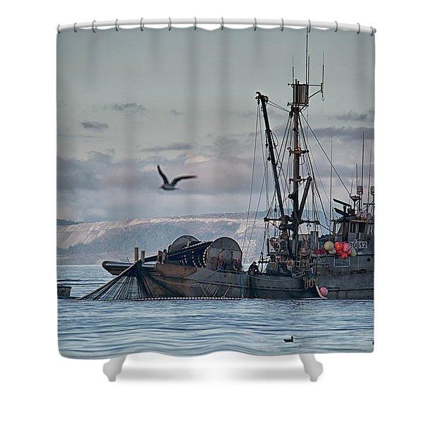 Shower Curtain featuring the photograph Nita Dawn by Randy Hall