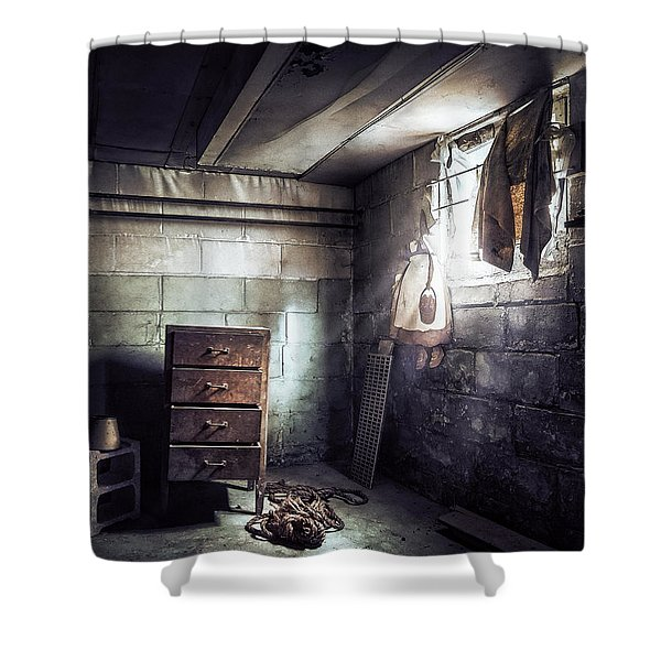 No Escape 2 Shower Curtain