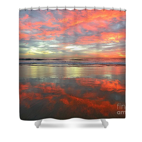 North County Reflections Shower Curtain