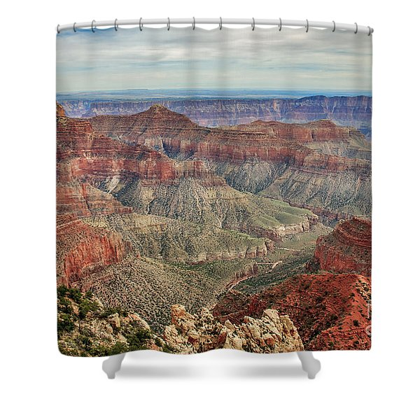 North Rim View Shower Curtain