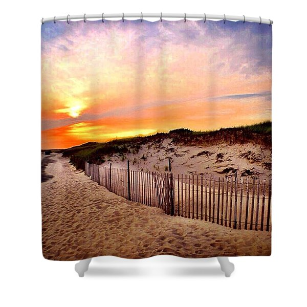 Westport Summer Shower Curtain