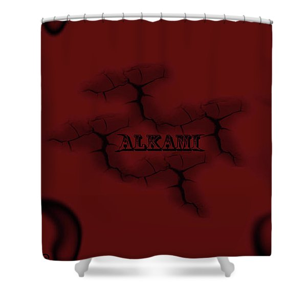 Occult Shower Curtain