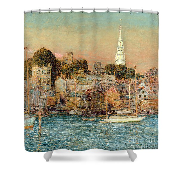 October Sundown Shower Curtain