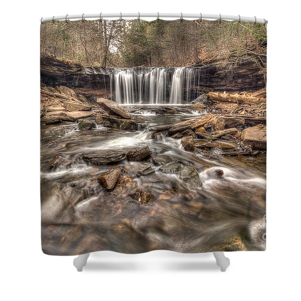 Oneida Falls II Shower Curtain
