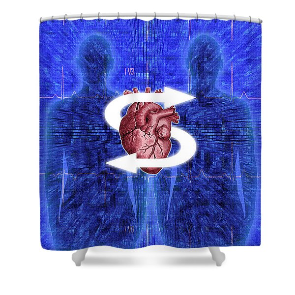Organ Donation Shower Curtain