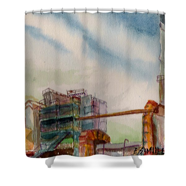 Paia Mill 2 Shower Curtain
