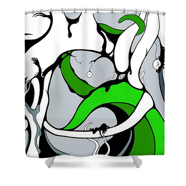 Parabys Shower Curtain